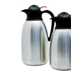 Fortessa Stainless Steel Double Steel Liner Insulated Beverage Server 64oz (2 ltr)